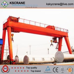 Buy cheap MG Model Double Girder Gantry Crane Design from wholesalers