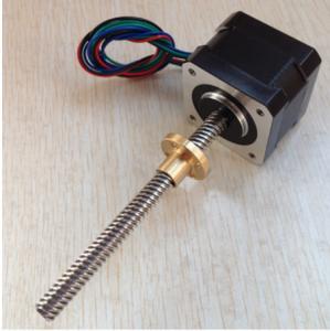 Buy cheap stepper motor lead screw 1.8 degree 42x40mm,Tr8x8mm 42SHD0217-150NK from wholesalers