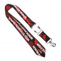 Wholesale WL-2 Business Conference Woven Lanyards Personalized , Flat Polyester Lanyard from china suppliers