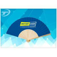 Wholesale 21cm Promotional Bamboo Folding Hand Fans With Paper Or Fabric from china suppliers