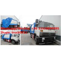 Buy cheap Wholesale bottom price customized dongfeng 4*2 RHD 190hp Euro 3 14m3 compression garbage truck, garbage compactor truck from wholesalers