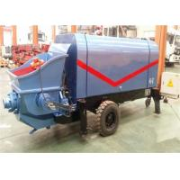 Wholesale Engineering Construction PLC concrete pumping machine , High Pressure pump concrete truck from china suppliers