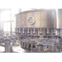 Buy cheap Soda Water Production LINE Carbonated Beverage Filling Machine 32 Filling Heads from wholesalers