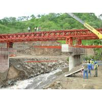 Wholesale Bailey Steel Timber Deck Bridges High Stiffness With Heavy loading from china suppliers