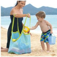 Wholesale promotional Clothes Toys Carry All Sand Away Beach Bag Mesh Tote Bag from china suppliers