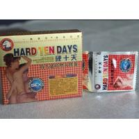 Wholesale Natural Most Effective Male Enhancement Pills Hard Ten Days Capsule from china suppliers