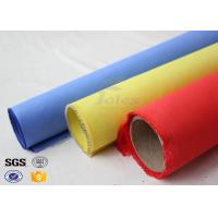 Wholesale Red Silicone Rubber Coated Fiberglass Engineer Acoustic Insulation Fabric Material from china suppliers
