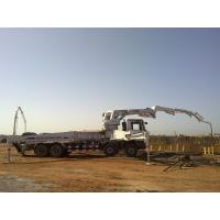 Wholesale 8x4 Concrete Pump Trucks 47m Isuzu Rz-Shaped Boom Truck 287kW from china suppliers