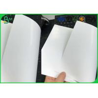 China 80 85 90 Gsm One Side Coated Printing Paper , Glossy Art Paper For Cigarette Box Package on sale