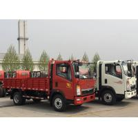 Wholesale White SINOTRUK Light Duty Trucks  Transporting Vegetables Fruits from china suppliers