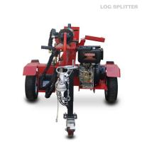 Wholesale 1050mm Petrol 4 Stroke trailer mounted hydraulic wood splitters from china suppliers