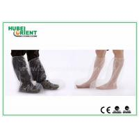 Wholesale Plastic Disposable Shoe Cover Outdoor / Waterproof Rain Boot Cover For Hospital from china suppliers