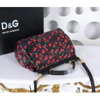 China New Design Rose Flower Pattern D&G Women's Shoulder Handbags Fashion Trend Landscape Red Zipper Totes Bag on sale