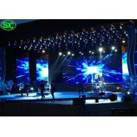 Wholesale P3.91 Music Show Ultra Thin Led Video Wall Rental Waterproof Hanging Structure from china suppliers