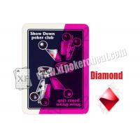 Wholesale Modiano Show Invisible Playing Cards Down Poker Club Jumbo Index from china suppliers
