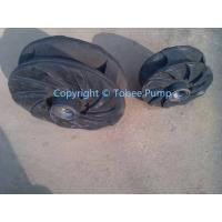 Wholesale War man Replaced Rubber Slurry pump impeller from china suppliers