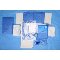 Buy cheap Custom Breathable Disposable Sterile Drape Sheets , Abdominal Drape from wholesalers