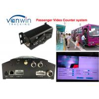 Wholesale 4CH People video counter HD Mobile DVR / HDD bus management car dvr system from china suppliers