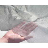 China Ultra Thin Stainless Steel Wire Cloth , Metal Mesh Fabric For RFI EMI Shielding on sale