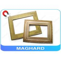 Wholesale Unusual Gold Plated Fridge Magnet Photo Frames 10 x 8 / Home Decoration Framing from china suppliers