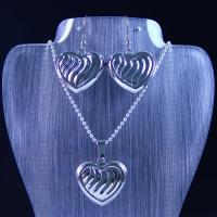 Wholesale High Quality Stainless Steel Jewelry Set LUS77 from china suppliers