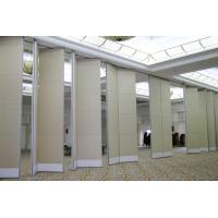 Wholesale Auditorium Sliding Operable Partition Function Hall Sound Proof Movable Ceiling Room Dividers from china suppliers