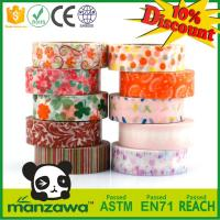 Buy cheap Fashionable and Easy to use custom printed washi tape for masking tape at reasonable prices from wholesalers