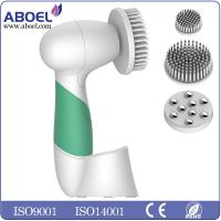 Wholesale Women Spa Skin Care Device , Green Waterproof Body Cleansing Brush from china suppliers