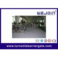 Wholesale Electric Flap Barrier Gate With IR Sensor / Access Control Card Swipe Flap Turnstile from china suppliers