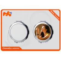 Wholesale Small Sublimation Compact Mirror For Wedding Gift Convenient Carrying from china suppliers