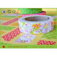Wholesale Party Washi Masking Tape Flowers Decorating Floral Washi Crafting Tape from china suppliers