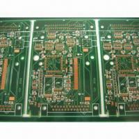 Wholesale Double-sided PCB with 6mil/mil Trace, ENIG Finish, Suitable for HP Printer from china suppliers