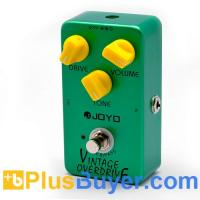 Wholesale Joyo JF-01 - Overdrive Guitar Pedal with Vintage Distortion (True Bypass, Metal Body) from china suppliers