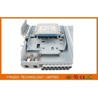 Wholesale PC+ABS Material Optical Terminal Box , Fiber Optic Closure With LGX Module SC/UPC Coupler from china suppliers