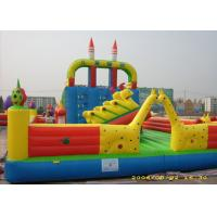 Wholesale Outdoor Playground Inflatable Amusement Park With 0.55mm PVC Tarpaulin from china suppliers