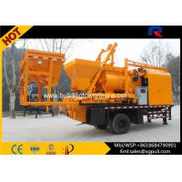 Wholesale 37Kw Automatic Mobile Concrete Batching Hopper Capacity 1.8m3 from china suppliers