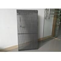 Wholesale Led Curtain display P10 transparent led screen outdoor hollow panels from china suppliers