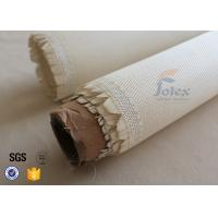 Wholesale 600g Break Twill Satin Fiberglass High Silica Fabric For Fire Welding Blanket from china suppliers