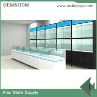 Buy cheap Mobile phone shop interior design glass display showcase store furniture from wholesalers