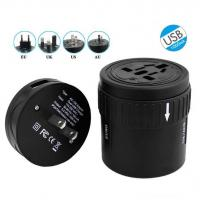Wholesale All In One Extension USB Power Adapter Socket , Universal AC DC Power Switching Adapter from china suppliers