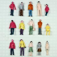Wholesale 1:100 Architectural Scale Model People Drawing Male Figure 1.8cm / materials for the model landscape from china suppliers