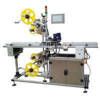 Wholesale Top And Bottom Surface Automatic Labeling Machine Automatic Sticker Labeling Applicator from china suppliers