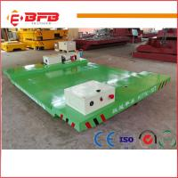 Buy cheap Heavy duty electric Industrial Usage Motorized Transfer Cart china factory from wholesalers