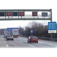 Buy cheap Traffic Control Variable Speed Signs Free Standing 5000 cd/M2 700mm x 650mm from wholesalers
