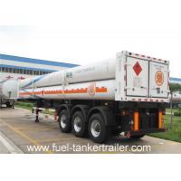 Wholesale 8 , 9 , 10 , 11 , 12 Tubes gas CNG Tank Trailer with 25Mpa 25.02 CBM from china suppliers