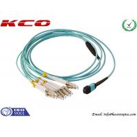 Wholesale Single Mode MPO MTP Patch Cord 8 Cores LC 10G OM3 Patch Cord from china suppliers