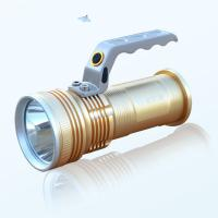 Wholesale XPG-R5 Aluminum Alloy Handle Led Portable Spotlight/Searching Light with 3.5mm Port from china suppliers
