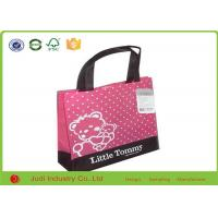 Wholesale Cute Design Non Woven Shopping Bag Bright Color Laminated Polypropylene Tote Bags from china suppliers