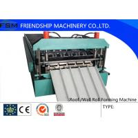 Wholesale Automatic Wall Panel Roll Forming Machine Cold Steel 15m / min Speed from china suppliers