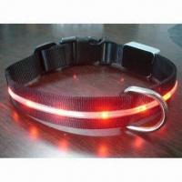 Wholesale LED Nylon Dog Leash, Lightweight and Comfortable, Various Colors Welcomed from china suppliers